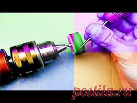 Делаем наждачную крышку насадку для быстрой шлифовки и заточки. Мини шлифовальный круг.