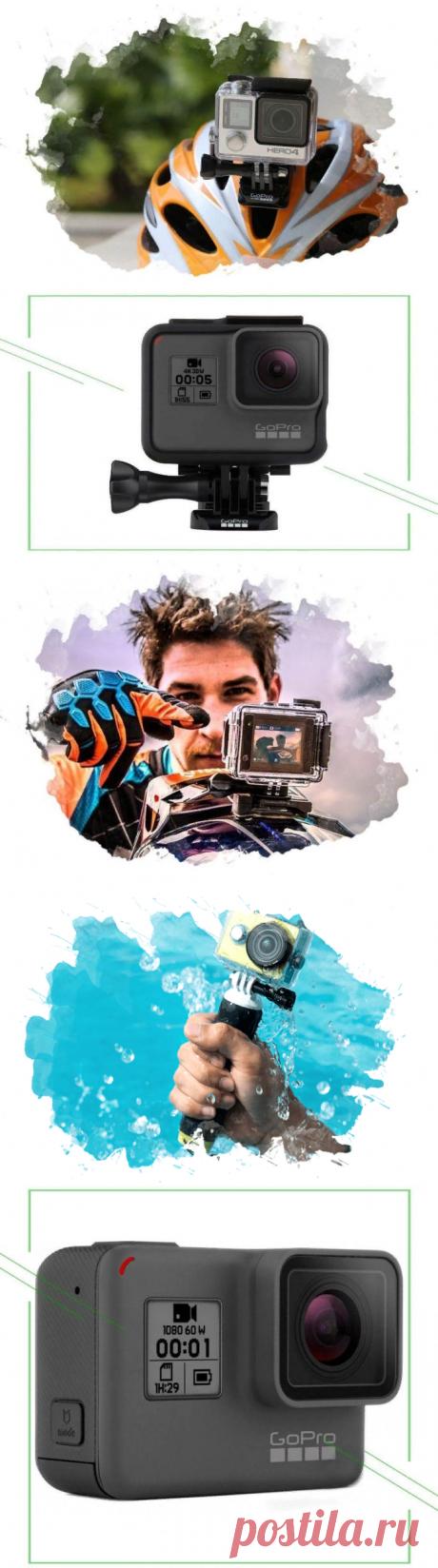 ТОП-5 лучших камер GoPro: как выбрать