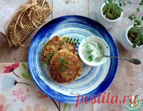 Капустно-геркулесовые оладьи – кулинарный рецепт