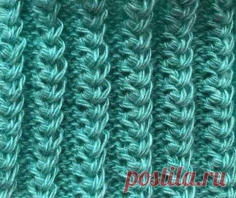 Техника вязания американской резинки (Вязание спицами) – Журнал Вдохновение Рукодельницы