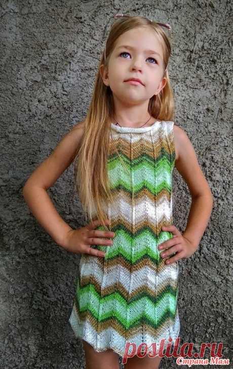 Платье Миссони МК - Вязание - Страна Мам