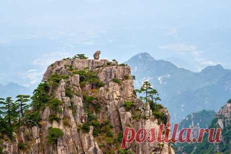 Неизвестные чудеса Китая: гора Хуаншань 黄山 | Евгений Касперский | Яндекс Дзен