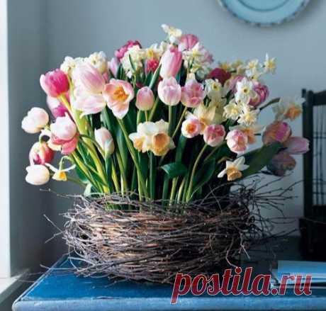 """""""Корзина"""" с цветами"""