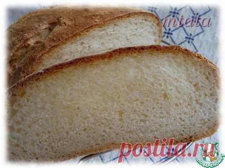 Хлеб на ночной опаре Кулинарный рецепт