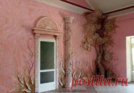 Граффито – лепим свой неповторимый интерьер - Дизайн квартир с фото Vdizayne.ru