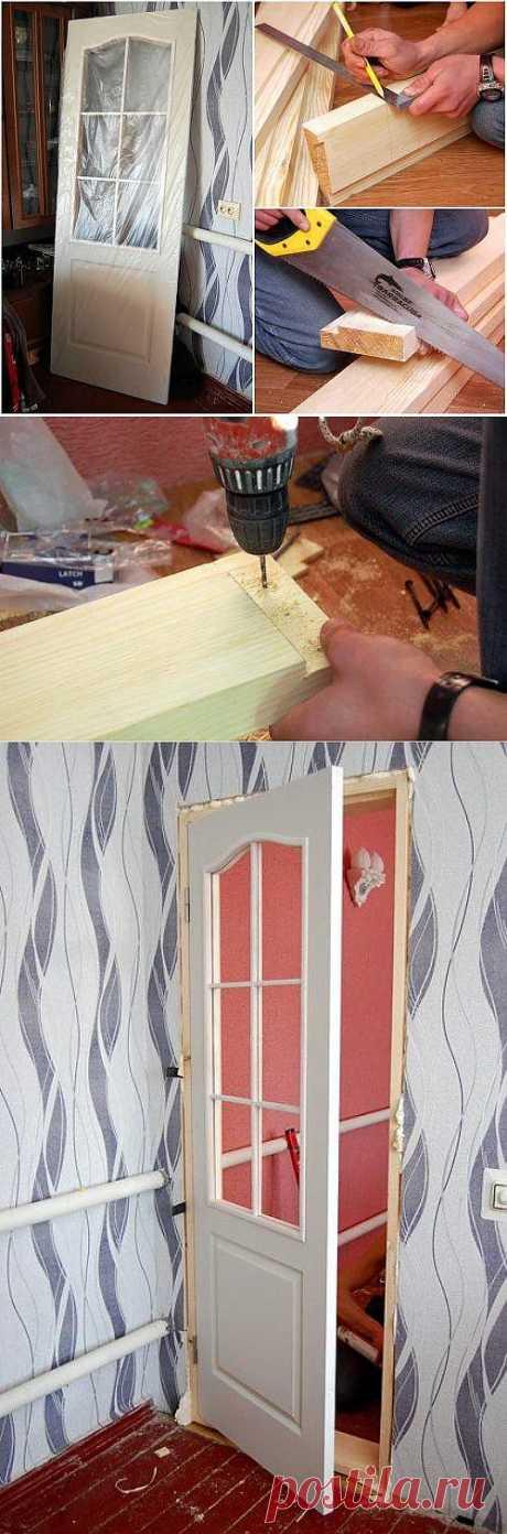 Устанавливаем сами межкомнатную дверь. Технология установки межкомнатной двери
