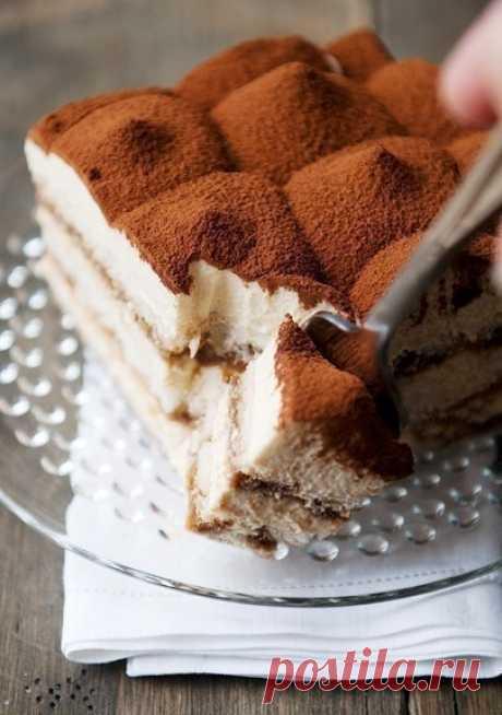 Как приготовить торт самый вкусный тирамису. - рецепт, ингредиенты и фотографии
