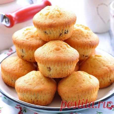 Обалденные кексы за 20 минут!