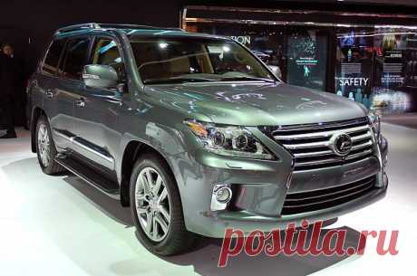 Detroit 2012: Lexus put under a knife of LX 570 for 2013 years