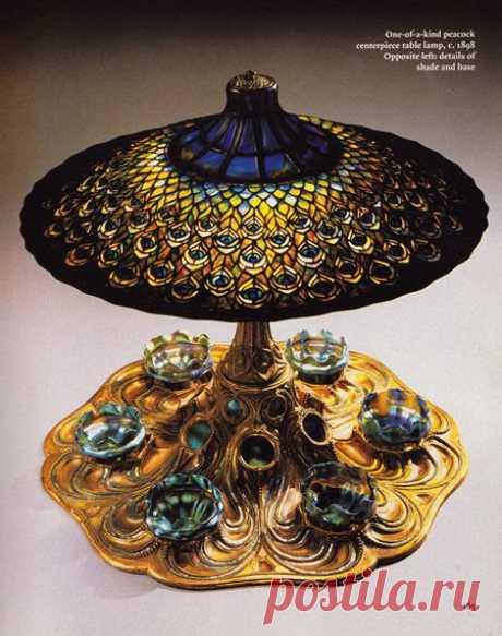Лампа от Тиффани.