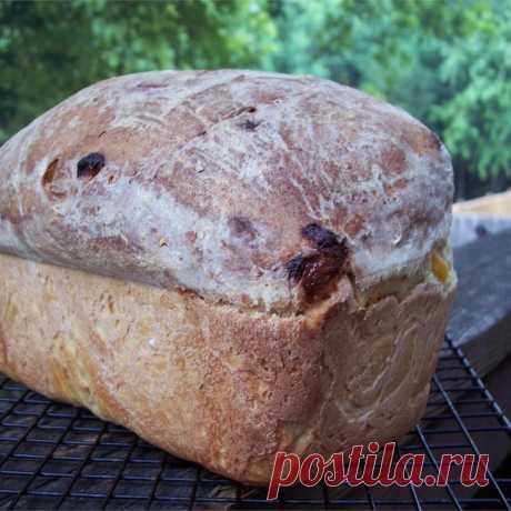 Хлеб с курагой и геркулесом