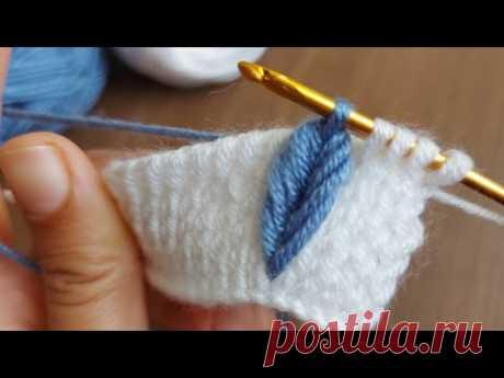 Super Easy Tunisian Knitting - Tunus İşi Şahane Örgü Modeline  Bayılacaksınız