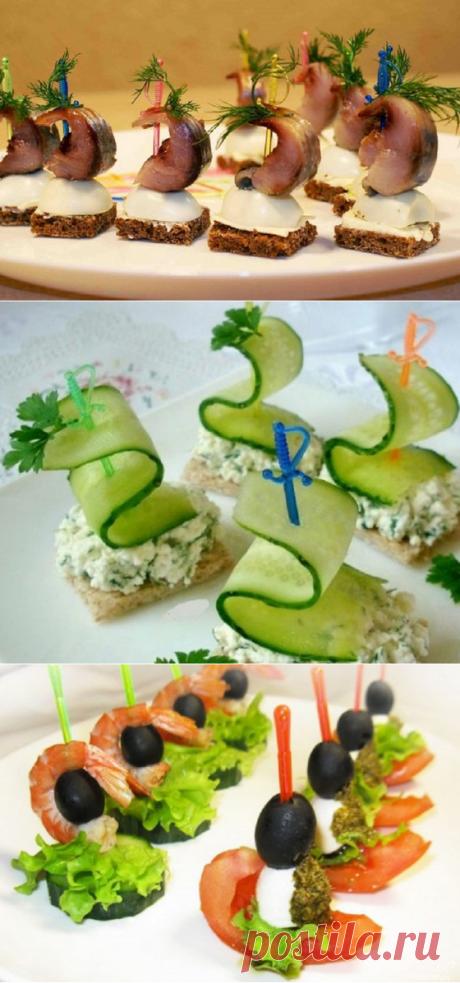 Вот как приготовить идеальные канапе, которые придутся по вкусу даже самым капризным гостям.