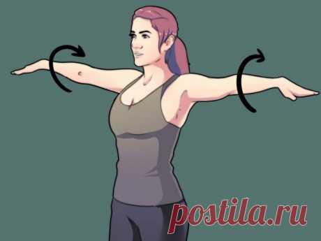 Разминка для плечевого сустава: 3 упражнения на каждый день