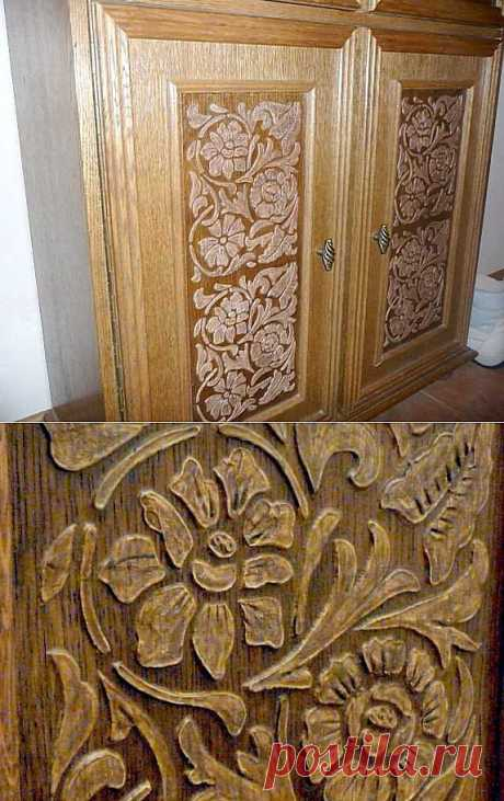 Master class: Imitation of woodcarving in 1 hour.