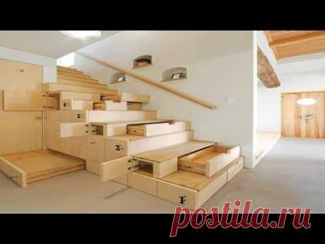 Удивительные идеи для экономии пространства - Смарт Мебель ▶ 3