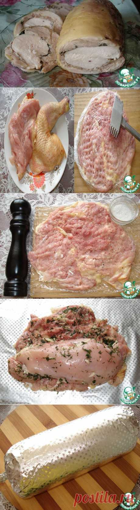Простой куриный рецепт,
