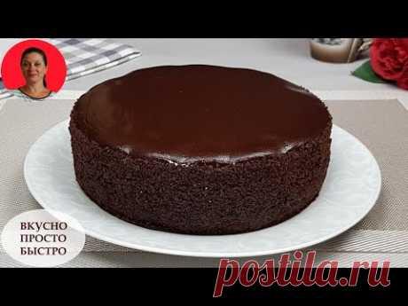 ПИРОГ с Вишней ✧ Вкусно Просто Быстро ✧ Домашний Рецепт  Шоколадного Пирога ✧ SUBTITLES