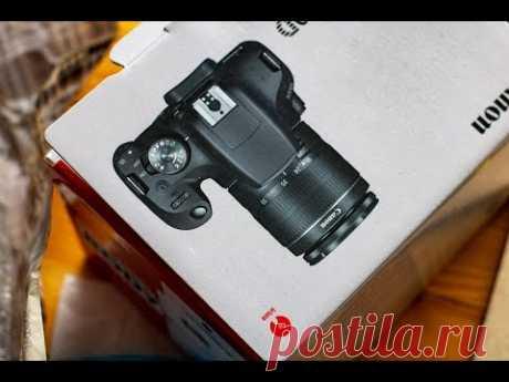 Canon EOS 2000D Распаковка, сравнение и впечатления. Canon Rebel T7 review.
