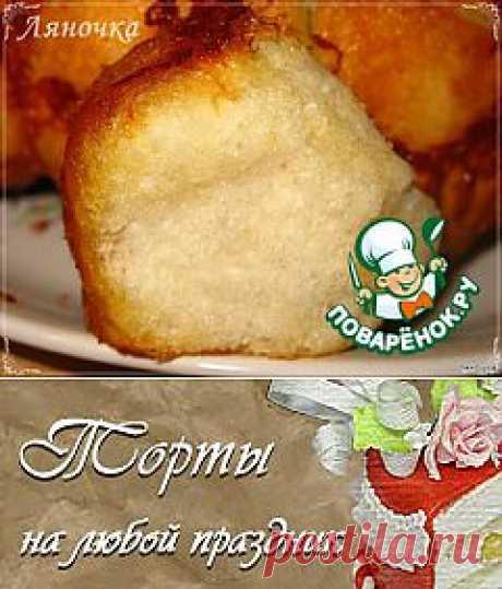 """""""Обезьяний"""" хлеб с сыром и чесноком - кулинарный рецепт"""