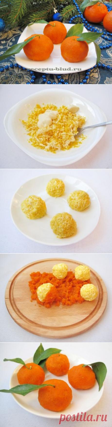 Mandarinki – la colación para la mesa de fiesta