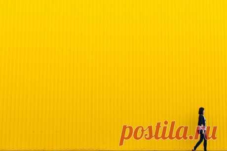Как грамотно использовать желтый цвет