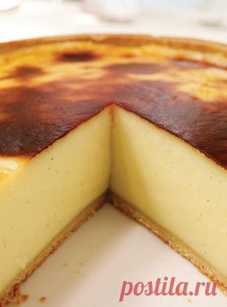 Французский пирог с заварным кремом рецепт с фото
