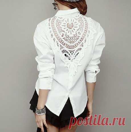 переделки блузок, футболок ✂