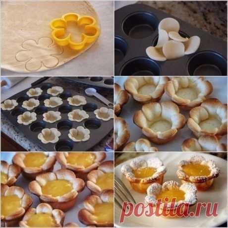Как красиво оформить выпечку относительно простыми способами