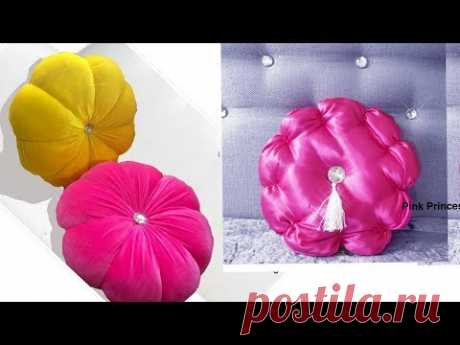 DIY FLOWER CUSHIONS .Easy to make in 10 minutes