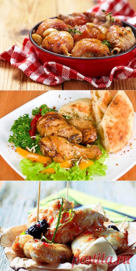Быстрые рецепты к Новому году. Горячие блюда: новогодние рецепты 2016 из куриных ножек - Антрекот - большая кулинарная книга