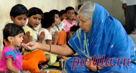 Индианка воспитала 1400 детей-сирот / Научный хит