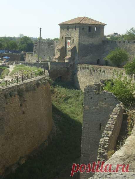 Ров Аккерманской крепости
