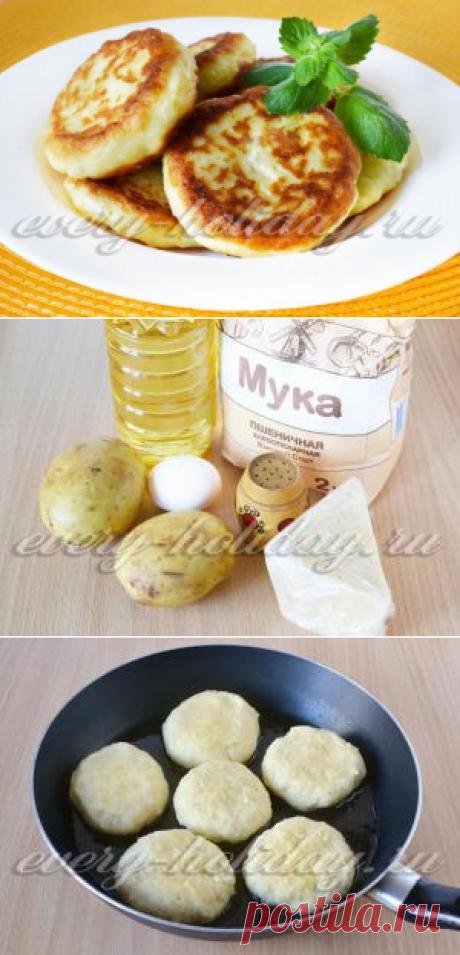Las croquetas de patata, la receta de la foto poshagovo