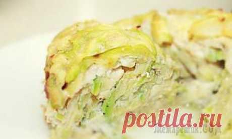 Запеканка из кабачков с сыром в духовке ♥♥♥ Касэрол рецепт