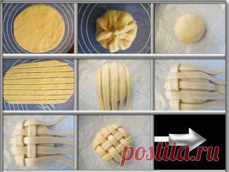 КУЛИНАРНЫЕ ОТКРОВЕНИЯ ОТ СВЕТЛАНЫ МЕТАКСА: Пирог с инжиром (Фигурная выпечка)