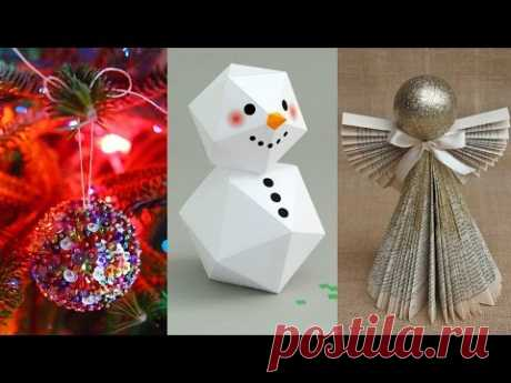 DIY ROOM DECOR! 15 DIY Projects for Christmas & Winter! Decorating ideas for a Frozen Room
