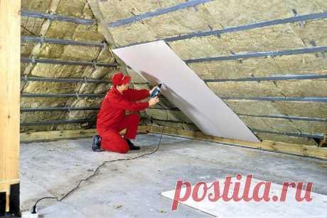 Правила монтажа базальтовой теплоизоляции — Самострой
