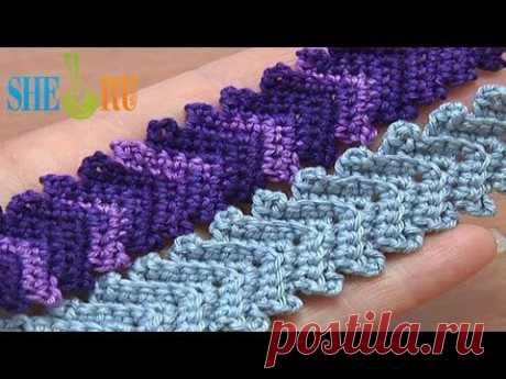▶ Вязаные шнуры Урок 1 Классический вязаный крючком шнур - YouTube
