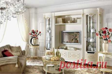 Фото интерьеров гостиной в классическом стиле | flqu.ru - квартирный вопрос. Блог о дизайне, ремонте