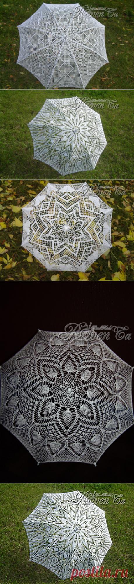 Вяжем зонты - мк от Ровенской Татьяны