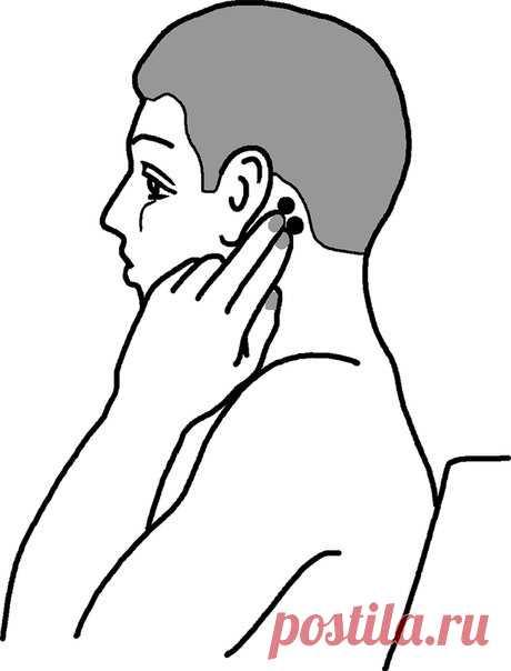 САМОМАССАЖ ШЕИ улучшается кровоток сосудов мозга