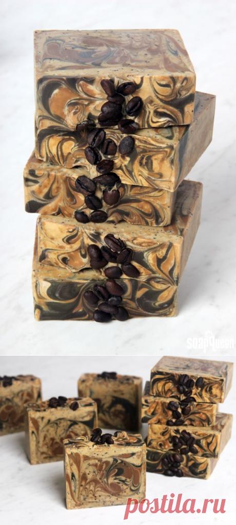 Кофейное мыло с нуля: рецепт и фото инструкция