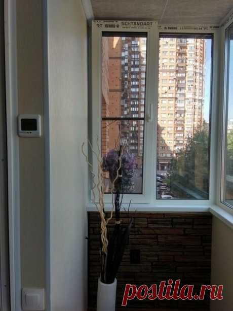 Безумно красивое решение для балкона