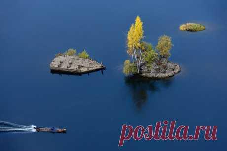 Река Вишера, Пермский край. Снимок Виталия Терешонка.