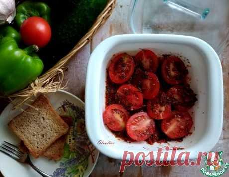 Закусочные перечные помидоры быстрые – кулинарный рецепт