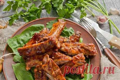 10 рецептов вкусных свиных ребрышек в духовке - пошагово