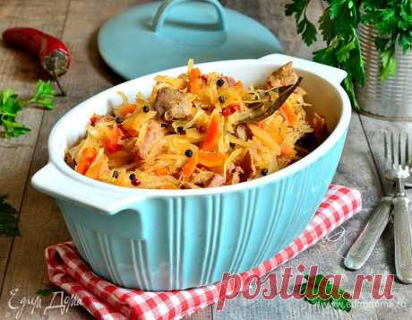 Как приготовить вкусную тушеную капусту — рецепты от сайта «Едим Дома» | Официальный сайт кулинарных рецептов Юлии Высоцкой