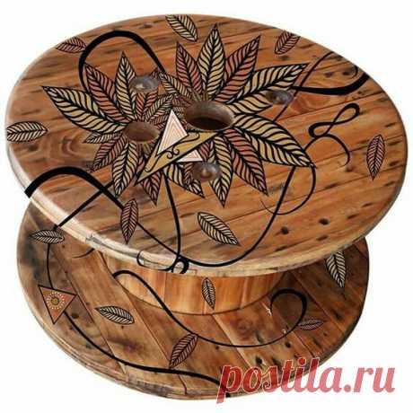 Мебель из катушек / Дача / ВТОРАЯ УЛИЦА
