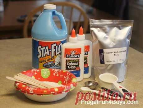 Як зробити магнітний Slime - Скромний Fun для хлопчиків і дівчаток